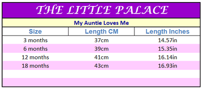 Aunt Loves Me Onesies - Little Palace Store