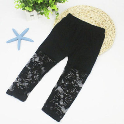 Ballerina Lace Leggings - Little Palace Store