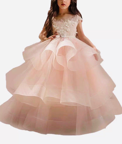 Beautiful Princess Sparkles Dress - Priority Shipping - Little Palace Store