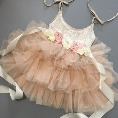Beautiful Princess Tutu Dress-Priority Shipping - Little Palace Store