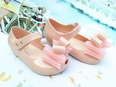 Bowtique Bowtastic Jelly Sandals - Little Palace Store