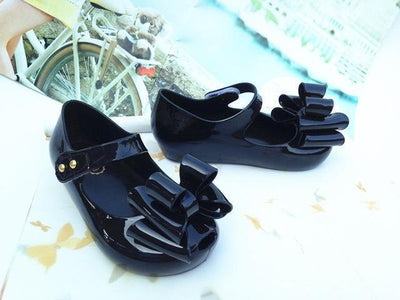 Bowtique Bowtastic Jelly Sandals-Priority Shipping - Little Palace Store