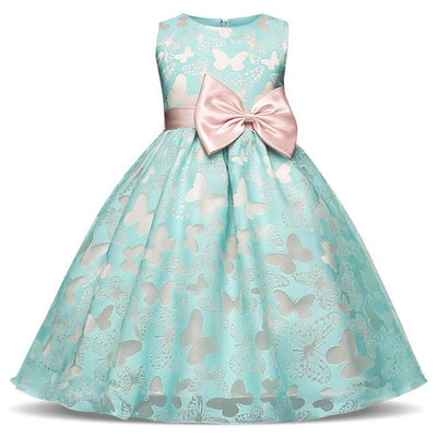Bowtique Butterflies And Bows Dress - Little Palace Store