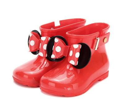 Bowtique Dotty Splash Boots - Little Palace Store