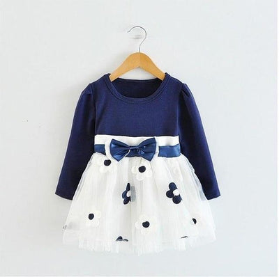 Bowtique Flower Dress - Little Palace Store