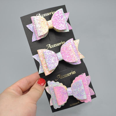 Bowtique Glitter Hair Clips - Little Palace Store