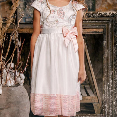 Bowtique Pink Bow Princess Dress - Little Palace Store