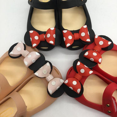 Bowtique Polka Dotty Jelly Sandals (Deluxe) - Little Palace Store