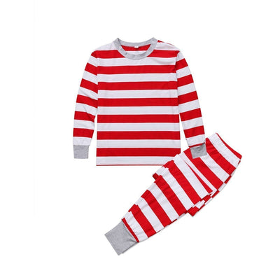 Candy Cane PJs Set-Priority Shipping - Little Palace Store