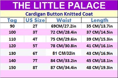 Cardigan Button Knitted Coat - Little Palace Store