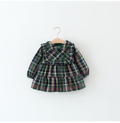 Classic Tartan Dress - Little Palace Store