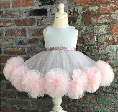 Cloud  Princess Dress - Little Palace Store