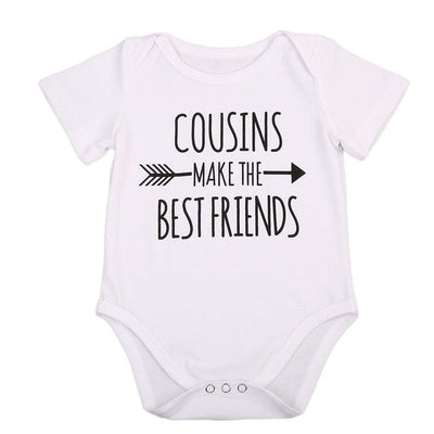 Cousins Make The Best Friends Onesies - Little Palace Store