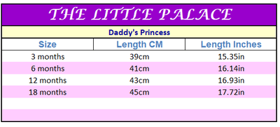 Daddy's Princess Onesies - Little Palace Store