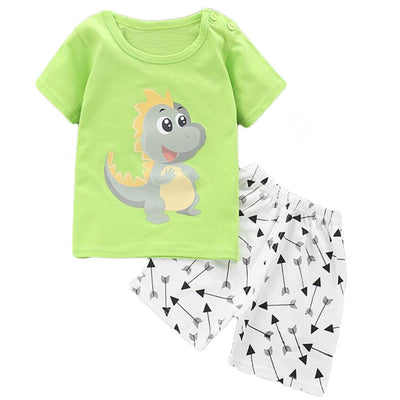 Dinosaur Prince Summer Set - Little Palace Store
