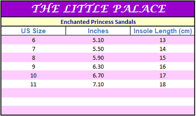 Enchanted Princess Sandals - Little Palace Store