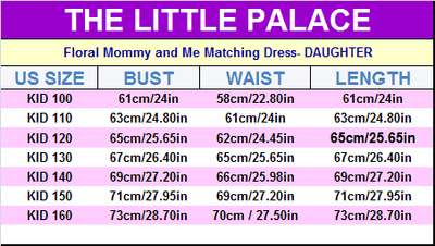 Floral Mommy and Me Matching Dress - Little Palace Store