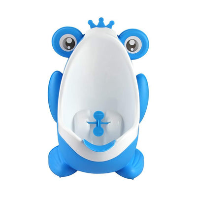 Frog Shape Boys Urinal Potty Frog Shape Boys Urinal Potty Little Palace Store blue/white