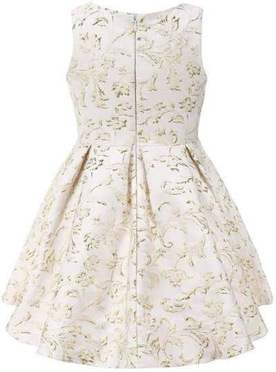 Golden Flowers Dresses - Priority Shipping Dresses Little Palace Store