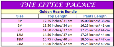 Golden Hearts Bundle - Little Palace Store