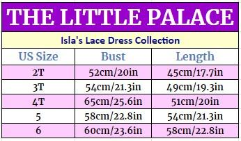 Isla's Lace Dress Collection Dresses Little Palace Store