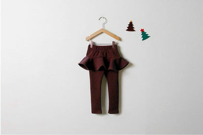Little Princess High Waist Skirt Leggings - Little Palace Store