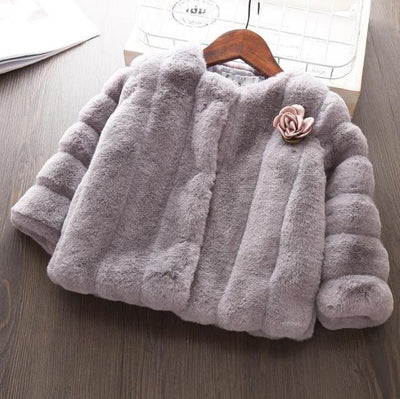 Little Princess Warm Coat-Priority Shipping - Little Palace Store