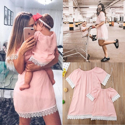 Matching Mom and Daughter Summer Dress - Little Palace Store