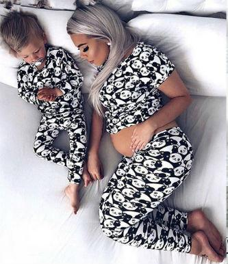 Matching Pajamas for Mom, Big Sis & Baby - Little Palace Store