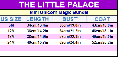 Mini Unicorn Magic Bundle - Little Palace Store