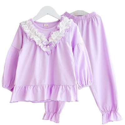 Mom And Daughter Pajama Set - Little Palace Store