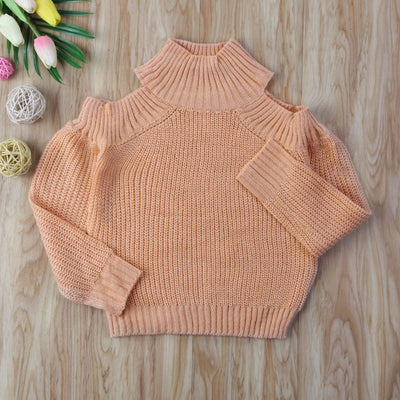 Mom And Mini  Matching Off Shoulder Sweaters - Little Palace Store