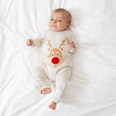 Mom n'baby Reindeer Pajama Sets - Little Palace Store