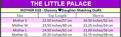 Mommy  ❤Daughter Matching Outfit - Little Palace Store