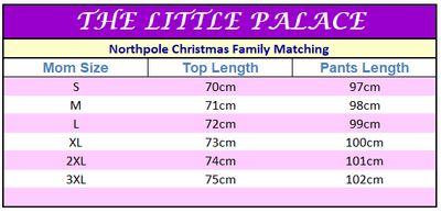 NorthPole Christmas Family Matching Pajamas Sleepwear - Little Palace Store