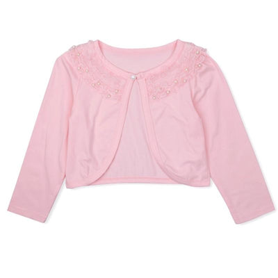 Pearl Lace Long Sleeve Bolero - Little Palace Store