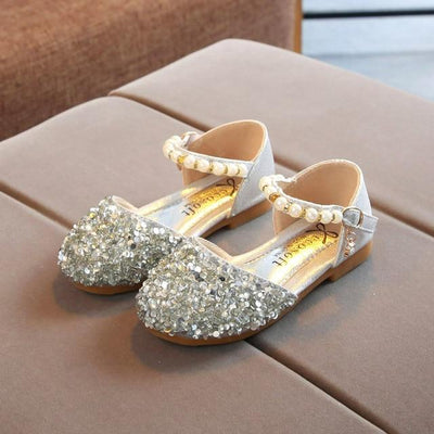 Pearl Princess Sparkle Sandals - Little Palace Store