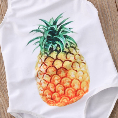 Pineapple Summer Bathing Suit - Little Palace Store