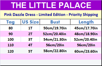 Pink Dazzle Dress - Limited Edition - Little Palace Store