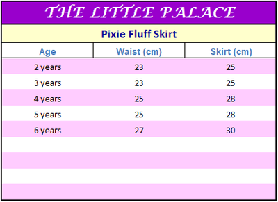 Pixie Fluff Skirt - Little Palace Store