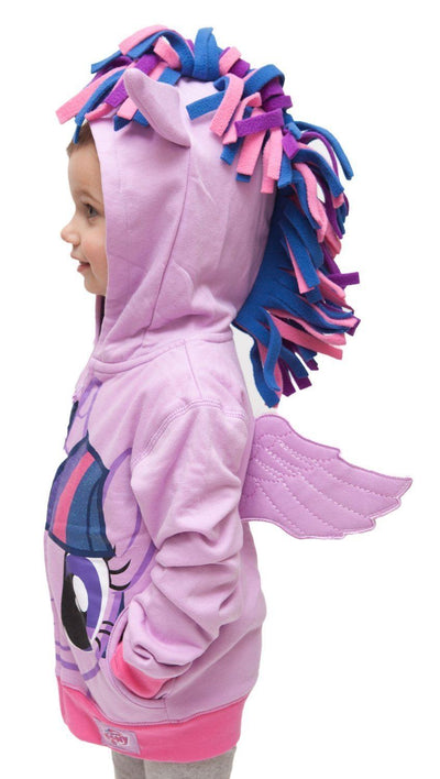 Pony Wings Hooded Sweater - Little Palace Store