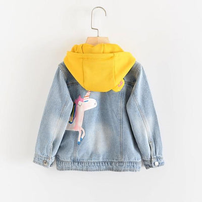 Princess Fashion Denim Jacket - Little Palace Store