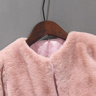 Princess Faux Fur Coat - Little Palace Store