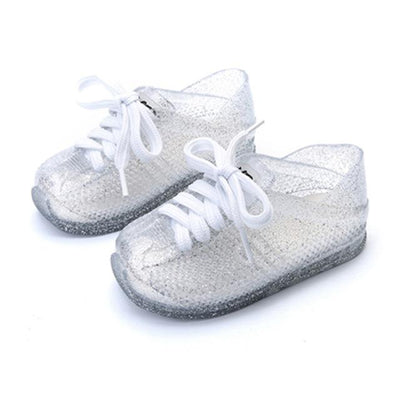 Princess Lace-Up Jelly Shoes - Little Palace Store