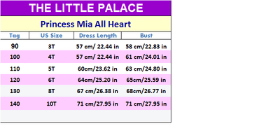 Princess Mia All Heart - Little Palace Store
