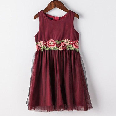 Princess Mia's Party  Dress - Little Palace Store