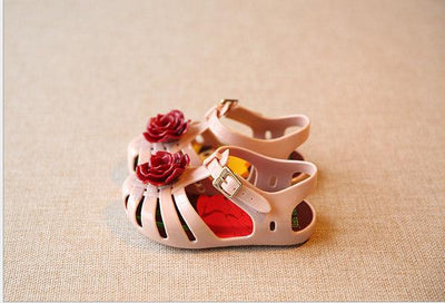 Rose Jelly Sandals - Little Palace Store