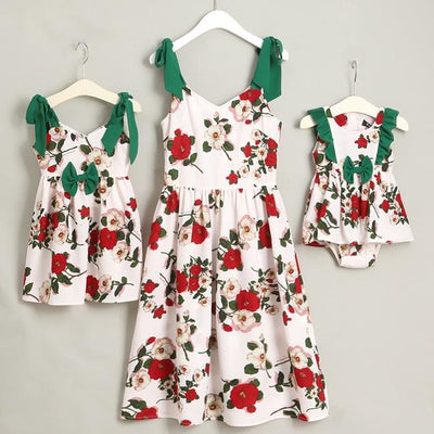 Secret Garden Mother Daughter Matching Dress - Little Palace Store