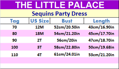 Sequins Party Dress - Little Palace Store