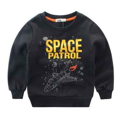 Space Patrol  Sweatshirt - Little Palace Store